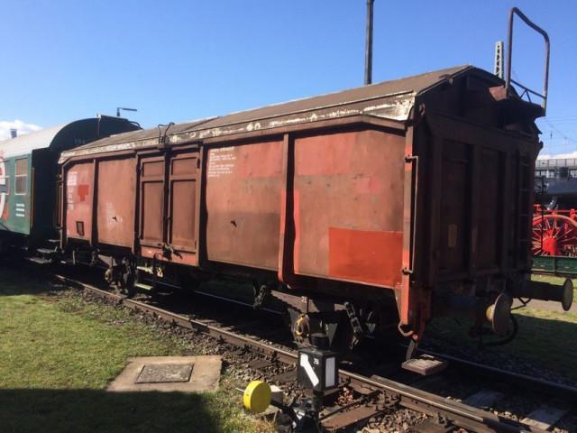 Neuer Museums-Güterwagen im BEM Nördlingen
