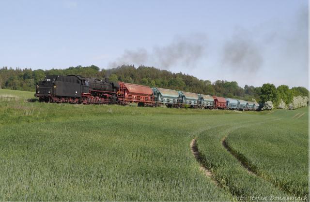 8. Mai 2018: Zugverkehr auf der Strecke nach Wilburgstetten